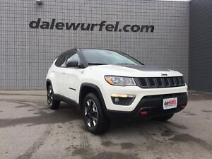 2018 Jeep Compass Trailhawk   PANO ROOF   NAV   LEATHER  