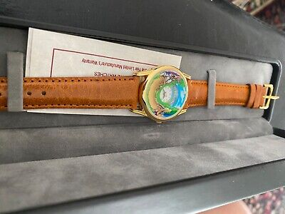 Collectable Disney Snow White And The Seven Dwarfs Animated Watch Mint Vintage