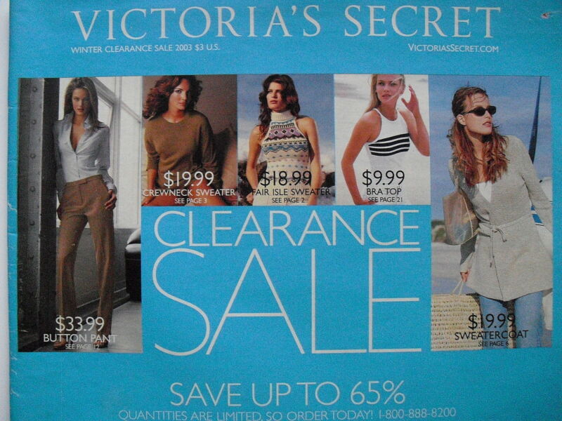 WINTER CLEARANCE SALE 2003  Victoria