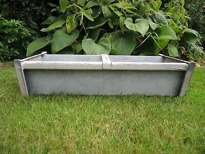 Vintage Galvanised Trough Garden Vegetable Planter  61 cm Long (755)