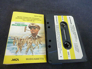 MACARTHUR-ULTRA-RARE-SOUNDTRACK-CASSETTE-TAPE-GREGORY-PECK