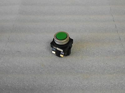 TEC Tachikawa Green Push Button, # 41-14393, Used, Warranty