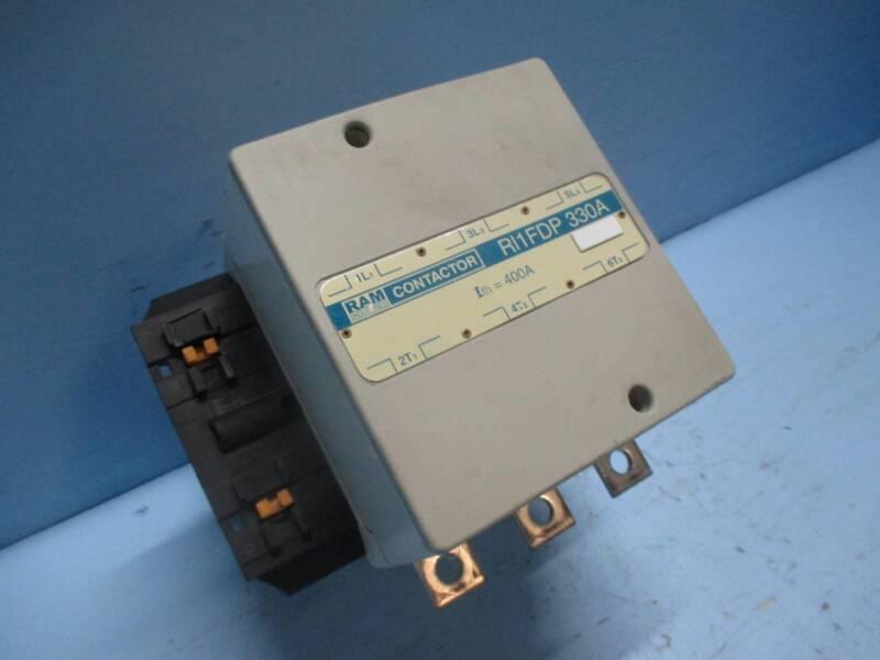 Ram Industries RI1FDP330A 330 Amp Motor Contactor 600V 120V Coil 3Ph 250 HP 330A
