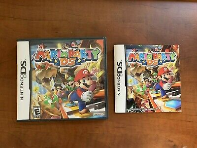 Mario Party DS Nintendo DS Case and Manual Only NO GAME! segunda mano  Embacar hacia Mexico