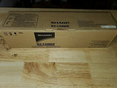 New Genuine OEM Sharp MX-C40NRB Black Drum Cartridge SEALED SAME DAY SHIPPING Oem Black Drum
