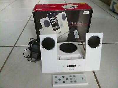 Logic3 i-Station Subwoofer System für iPod, iphone 4 shuffle