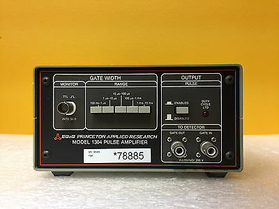 Egg Princeton Applied Research 1304 100 Ns To 10 Ms Pulse Amplifier