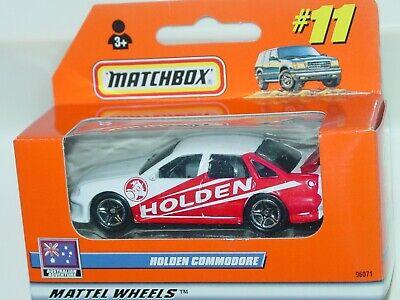 MATCHBOX WINDOW BOX 2000 #11 HOLDEN COMMODORE