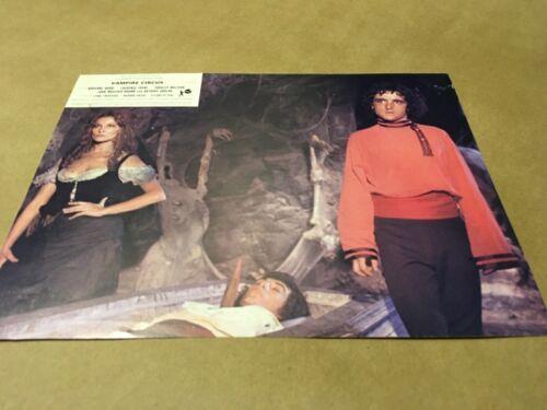 """1972 """" VAMPIRE CIRCUS """" Lobby Cards Promo"""