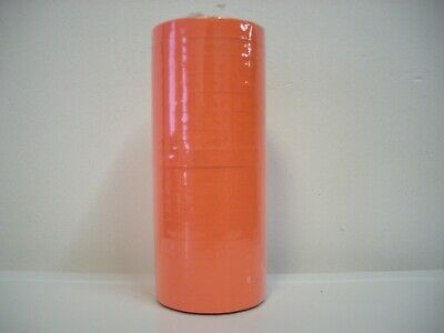 Fluorescent Red Label For Monarch 1110 Pricing Gun 1 Sleeve16rolls.