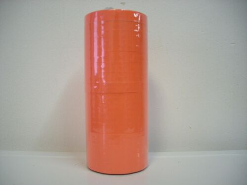 FLUORESCENT RED LABEL FOR MONARCH 1110 PRICING GUN 1 SLEEVE=16ROLLS.