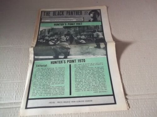 Black Panther Newspaper  Hunter