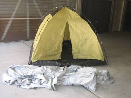 3 person tent and shelter.