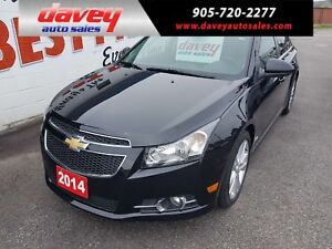 2014 Chevrolet Cruze 2LT RS PACKAGE! SUNROOF, LEATHER INTERIOR