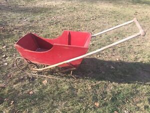 Antique push Sleigh / Buggy