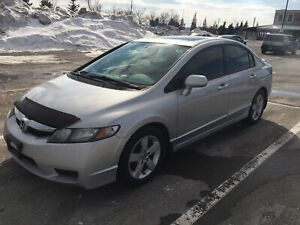 2010 Honda Civic..No Accident..1owner..Alloy rims & sunroof
