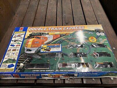 Ho Scale Double Train Express Life Like Trains 21430 Vintage Complete Set