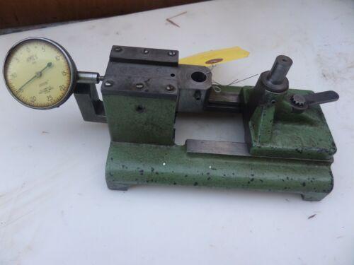 "VTG Quaker City Gear Tester Checker Industrial Machinist W/ Gauge .0005"" USA"