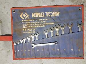 King Tony spanner wrap set (Metric) Sinagra Wanneroo Area Preview