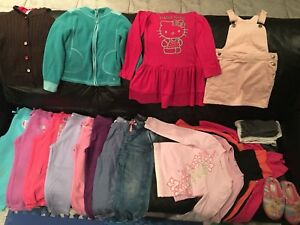 Clothing for girl size 4-6T LOT for 35$