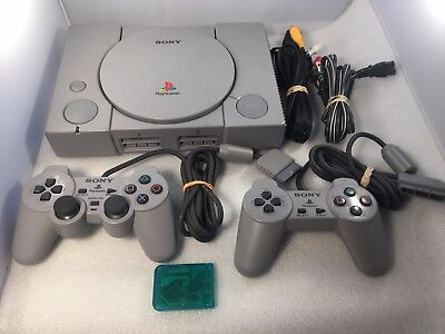 Original SONY Playstation 1 PS1 DualShock Console System