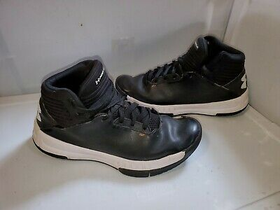 Under Armour Mens Basketball Shoes Athletic Sneakers Size 8.5m Black White