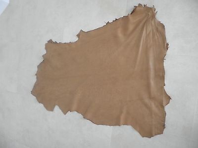 (TOWNSEND LEATHER Antique Glazed Honey Lambskin Antiqued and Hand Finished  New)