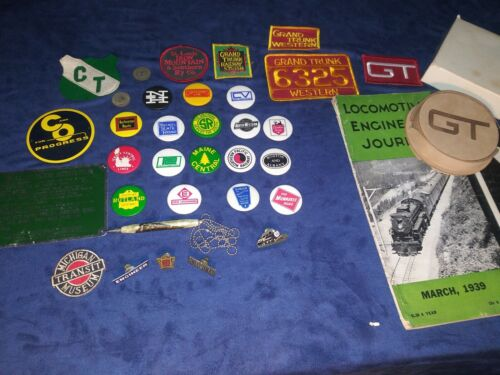 Lot Of Vintage Charles Prod. Co. Pinbacks & Employee pins and patches. NICE LOT