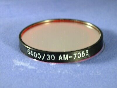 640nm Bandpass Filter X 3nm 50 Mm Dia Laser Optical Corian Interference Filter