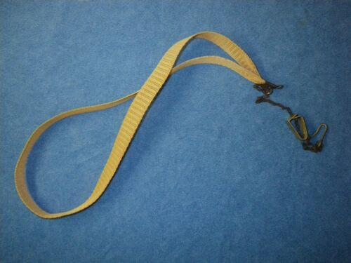 VINTAGE SELMER SAXOPHONE NECK STRAP - RARE COLLECTIBLE - MESH BAND
