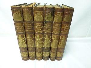 Das Buch der Erfindungen Gewerbe & Industrien Band 1-6 O. Spamer gebraucht/T89.6