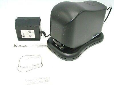 Swingline Electric Stapler Ac Power Cord Model 211xx Manual Desk Office Black