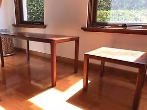2x Solid Jarrah Wood Catt Furniture Tables Claremont Nedlands Area Preview