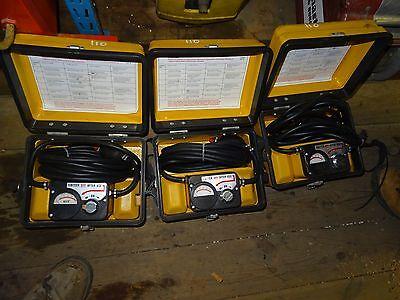 3 gas detectors MSA