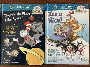 The Cat In The Hat ( Dr. Seuss).2 Books For Sale