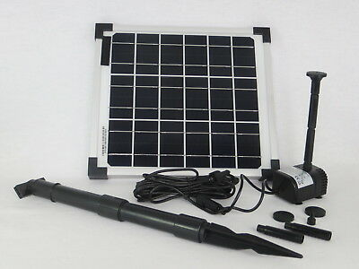 10 Watt Solar Pump Pond Pump SOLAR SUBMERSIBLE PUMP PUMP SET POND PUMP PUMP