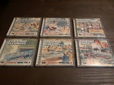 Nice Christmas Music Complete Set Lionel Train Series Volumns 1 2 3 4 5 6 CDs