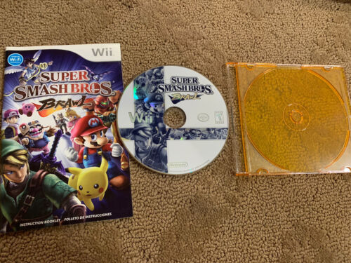 Wii Super Smash Bros Brawl Game  - $22.00