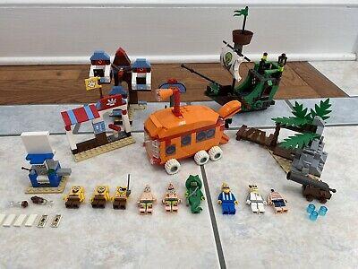 Lego Spongebob Lot Sets 3816 3817 3830 Bikini Express Dutchman Glove World