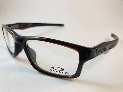 New Auth Oakley Eyeglasses OX 8090 0453 Crosslink polished rootbeer black