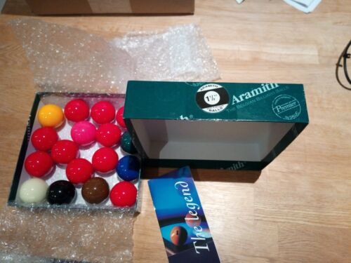 Aramith Snooker Balls 1 1/2
