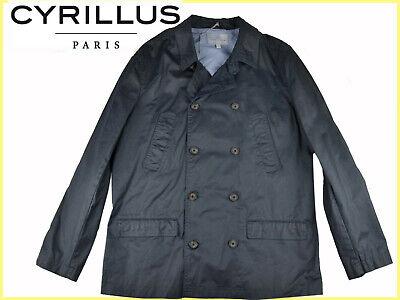 CYRILLUS PARIS Trench Hombre 48/50 54/56 EU M/L XL/2XL!A PRECIO SALDO¡ CY01...