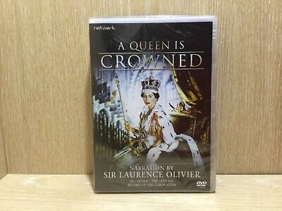 A Queen is Crowned DVD Narrated by Sir Laurence Olivier New & Sealed