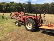 Tractor and implements. International 454. Red Hill South Mornington Peninsula Preview