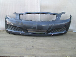 2007 2008 2009 infiniti g35 g37 sedan front bumper cover. Black Bedroom Furniture Sets. Home Design Ideas