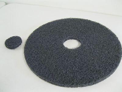 Norton Floor Burnisher Machine 17 Stripping Black Pad Disccleaningbufferusa