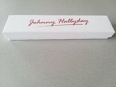 Coffret capsules de Champagne Johnny Hallyday vide