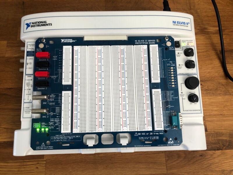 National Instruments NI ELVIS II+  Engineering Lab 100 MS/s Oscilloscope