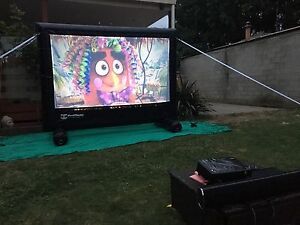 2.5M inflatable backyard cinema hire- birthday party, movie nights,Tv Ferntree Gully Knox Area Preview