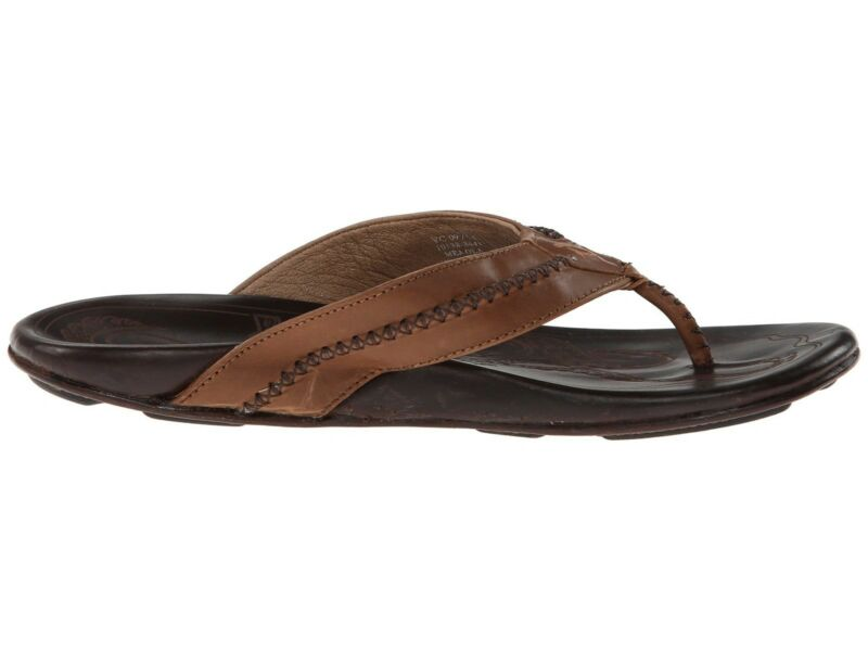 Olukai Mea Ola Men's Tan/Dark Java 11 10138-3448